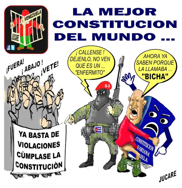 Resultado de imagen para violacion de la constitucion venezolana